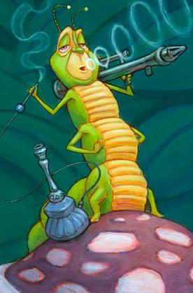Hookah Caterpillar
